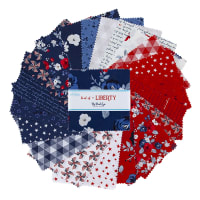 "Riley Blake Land Of Liberty 5"" Stacker 42 Pcs"