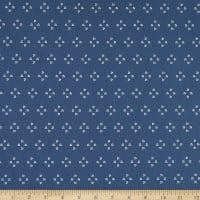 Riley Blake Poppy And Posey French Knots Navy