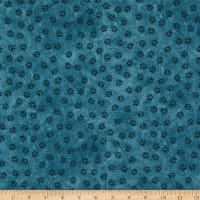 Henry Glass Yellowstone Paw Print Allover Teal