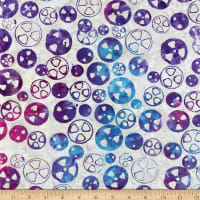 Island Batik Blinded by Science Radioactive Sterling
