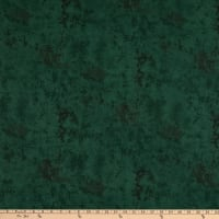 "108"" Wide Back Flannel Marble Forest Green"