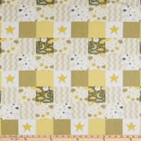 Flannel Baby Patch Yellow