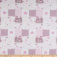 Flannel Baby Patch Pink
