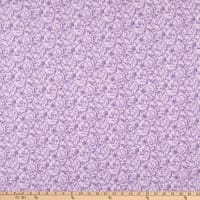 "108"" Wide Back Flannel Vine Purple"
