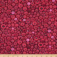 Kaffe Fassett Collective 2021 Button Mosaic Red