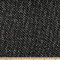 Wool Blend Coating Tweed Black/Grey