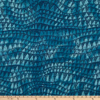 Trans-Pacific Textiles Sharkstooth Wave Slate