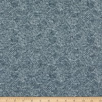 Richloom Fortress Clear Snead Basketweave Steelblue