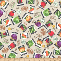 Whistler Studios Certified Delicious Seed Packets Ivory