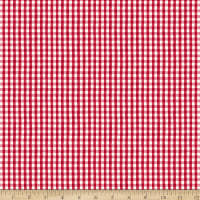 Whistler Studios Certified Delicious Mini Gingham Red