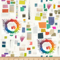 Windham Fabrics Digital  Color Theory Color Therapy Paper