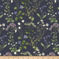 Windham Fabrics Midsummer Meadow Sweet Graphite