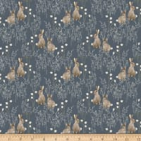 Windham Fabrics Midsummer Cotton Tail Slate