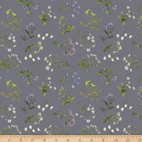 Windham Fabrics Midsummer Meadow Ditsy Pewter