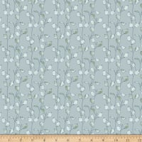 Windham Fabrics Midsummer Honesty Seed Sky