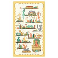 """Windham Fabrics Purrfect Day Purrfect Day 24"""" Panel Multi"""