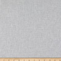 Telio Piper Linen Cotton Blend Yarn Dyed Houndstooth Grey