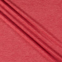 Telio Rayon Blend Stretch French Terry Knit Tango Red