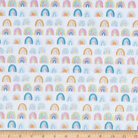 Dear Stella Minky Rainbows White