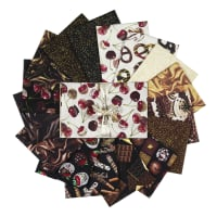 Kanvas Chocolicious Fat Quarter Bundle 16pcs Multi