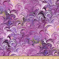 Benartex Poured Color Cosette Violet/Multi