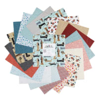 Contempo It's Raining Cats and Dogs It's Raining Dogs 10x10 Pack 42pcs