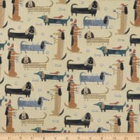 Contempo It's Raining Cats and Dogs Long Dogs Camel