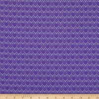 Benartex Lavender Fields Avril Deco Dark Purple