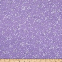 Benartex Lavender Fields Margaux Small Flower Light Purple
