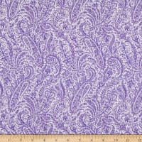 Benartex Lavender Fields Marianne Paisley Purple
