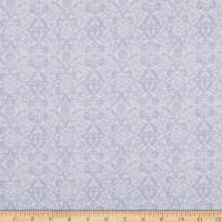 Benartex Lavender Fields Veronica Damask Lilac