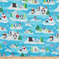 Kanvas Snow Place Like Home Snow Fun Scenic Turquoise