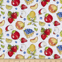 P&B Textiles Fruit Stand All Over Fruit Multi