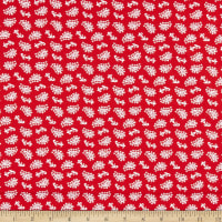 P&B Textiles Fruit Stand Paisley Red