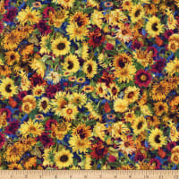 Wilmington Flowers of the Sun Small Packed Sunflower Multi