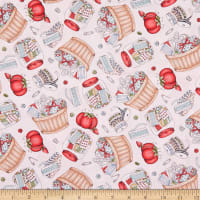Maywood Studio Measure Twice Tossed Notions Pink