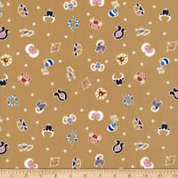 Lewis & Irene Small Things Glow Star Signs Glow in the Dark Mellow Ochre