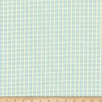 In The Beginning Patricia Dot Plaid Green/Teal