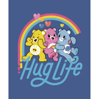 "Care Bears Believe Hug Life 36"" Panel Blue"