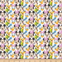 Disney Mickey Mouse Play All Day MM Here Comes the Fun White