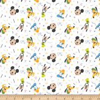 Disney Mickey Mouse Play All Day Boy White