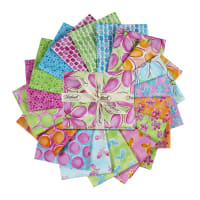 Whimsy Daisical Assorted Fat Quarters 18pcs