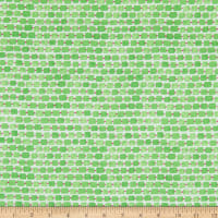 Whimsy Daisical Rectangles Green