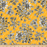 Show Me The Honey Floral Yellow