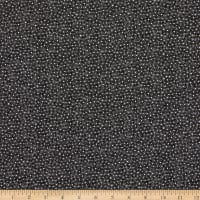 Stoffabric Denmark Quilters Combination Circles And Dots Black