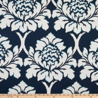 Madcap Cottage Ditchley Park Embroidered Duck Indigo