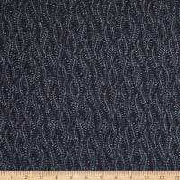 Telio Dolly Chiffon Print Fern Navy