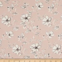 Telio Dolly Chiffon Print Floral Blush