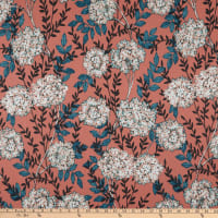 STOF France Hortensia Sateen Duck Terracotta