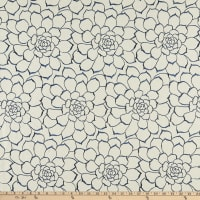Calista Succulent Embroidered Woven River